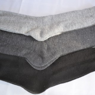 Alpaca Socks Black Charcoal, Silver,